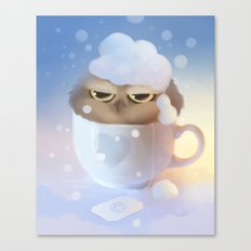 cup of owl Canvas Print