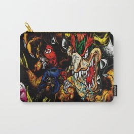 super mario art Carry-All Pouch