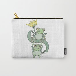 King Frog Carry-All Pouch