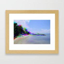 Trip 2 Paradise Framed Art Print
