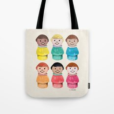 Little Girls Tote Bag