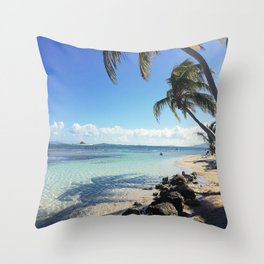 Tides and Tomorrows Throw Pillow