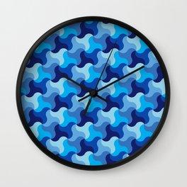 All-Blue Alhambra Wall Clock