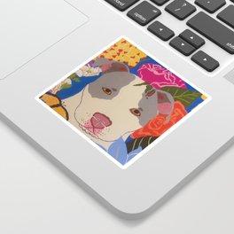 Pitbull LoveBug Sticker
