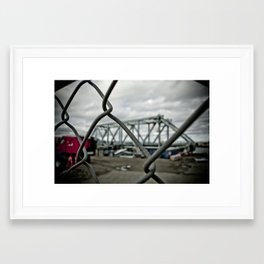 Dismantled Framed Art Print