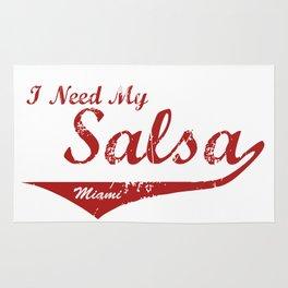 I Need My Salsa - Miami Rug