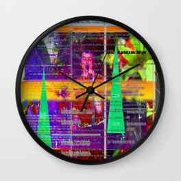 Like Cones of Scientific Management Wall Clock