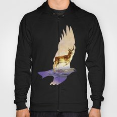 Pronghorn in the Morning Hoody