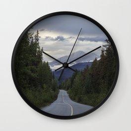 Highway to Jasper Wall Clock