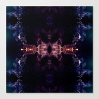 all seeing eye Canvas Prints featuring The all seeing eye by PLdesign