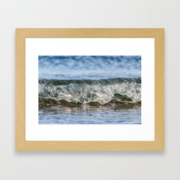 Beach Wave 0388 Framed Art Print