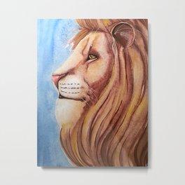 Lion of the Tribe of Judah Metal Print