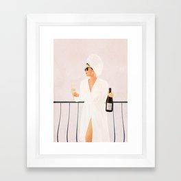 Morning Wine II Framed Art Print