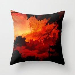 Orangefield Road Throw Pillow
