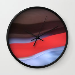 HP Sauce Abstract Wall Clock