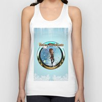 elf Tank Tops featuring Cute elf  by nicky2342