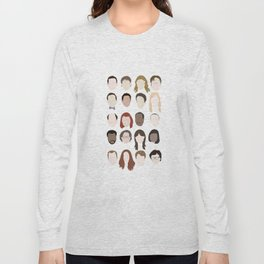 the office minimalist poster Long Sleeve T-shirt