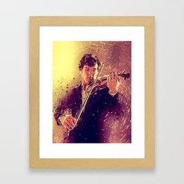 The Violin Framed Art Print
