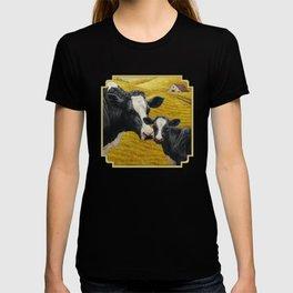 Holstein Cow and Cute Calf T-shirt