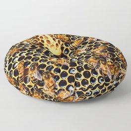 Sweet Honey Harvest Floor Pillow