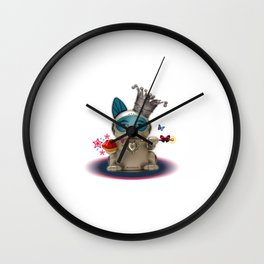 B.U.D.G.I.E. (Biomechanical Unit Designed for Galactic Infiltration and Exploration) Wall Clock