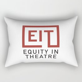 Equity in Theatre Rectangular Pillow