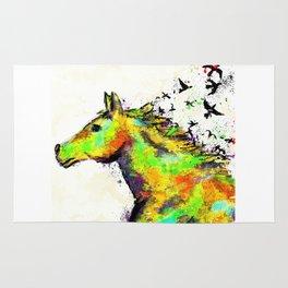 A Horse's Spirit Rug