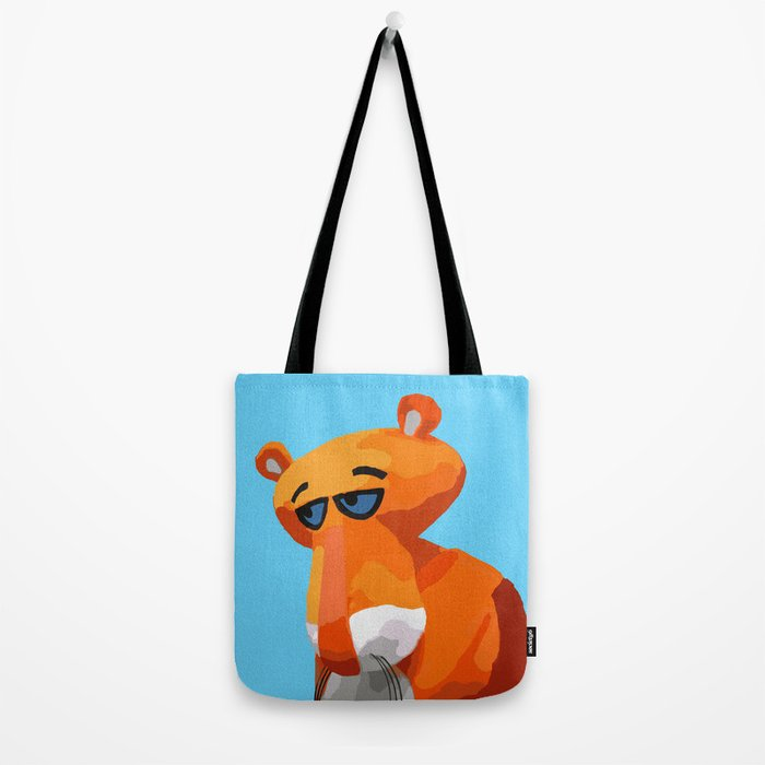 Happy Panther Tote Bag