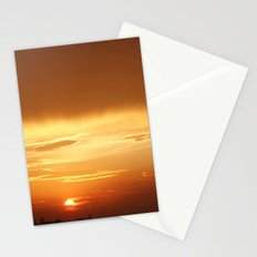 Sunset, April 16th, 2014 Stationery Cards