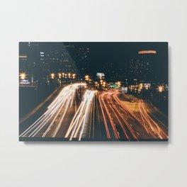 PHILADELPHIA LONG EXPOSURE Metal Print