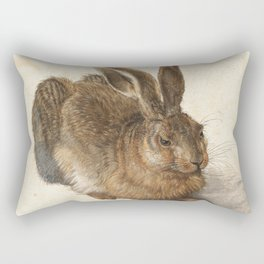 Young Hare Rectangular Pillow