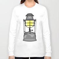 lantern Long Sleeve T-shirts featuring Lantern by mailboxdisco