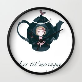 Alice's tea Wall Clock