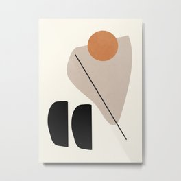 Abstract Shapes 61 Metal Print