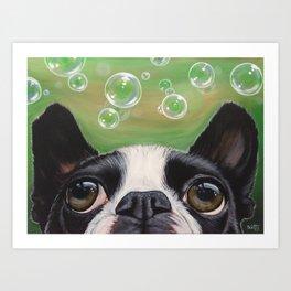 Boston Bubbles Art Print