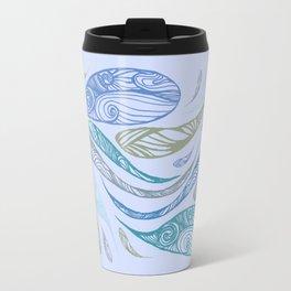 Pandora's Evils in BLUE Travel Mug