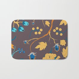 Fall Pattern Bath Mat