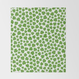 Shamrockadelic Throw Blanket