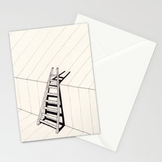 there's no way out of here Stationery Cards