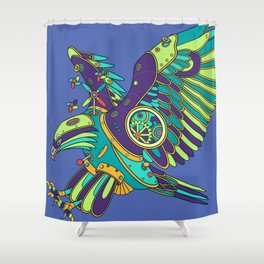 Eagle, cool wall art for kids and adults alike Shower Curtain