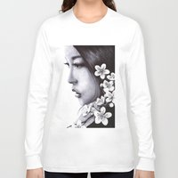 sakura Long Sleeve T-shirts featuring Sakura by Nester Formentera