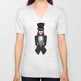 Gotham Masquerade Unisex V-Neck