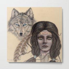 Kindred Spirits Metal Print