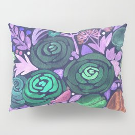 Watercolor . French cake in the colors . Pillow Sham