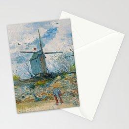 Vincent van Gogh - Le Moulin de la Galette Stationery Cards
