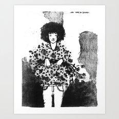 We won´t be friends Art Print