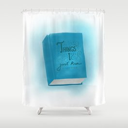 Intuition. Shower Curtain