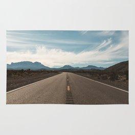 Vanishing Road Rug