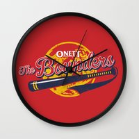 earthbound Wall Clocks featuring The Bounders by MeleeNinja