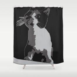 A Curiosity Amongst Cats Shower Curtain